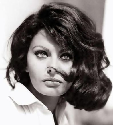 Sophia Loren, Inspiration board by Gwendolyn-Mary.com, bringing scent and music together to create exquisite fragrance
