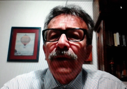 Carlos Velandia Vía Skype Mujeres Contando
