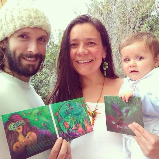Con Amaranto y el hijo